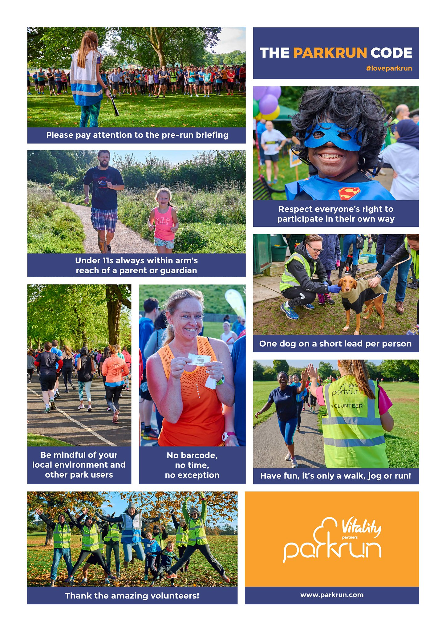 The parkrun Code image