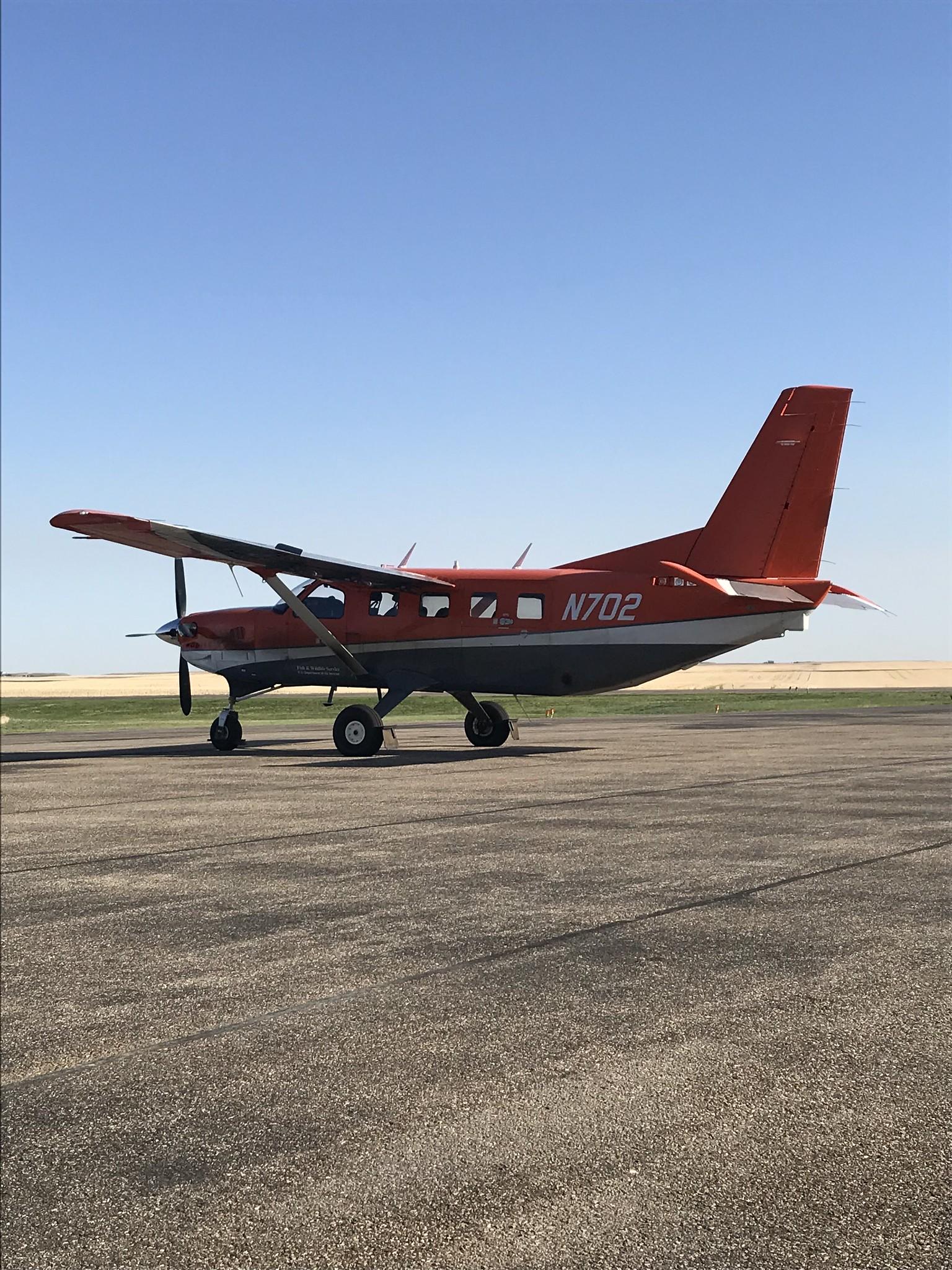 Kodiak N702 Leader, SK USFWS