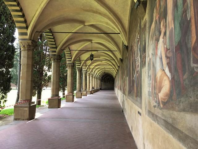 Santa Maria Novella Cloister