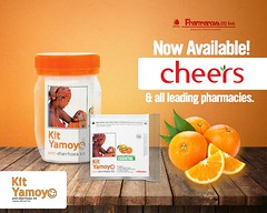 Kit Yamoyo Poster - Cheers Supermarket