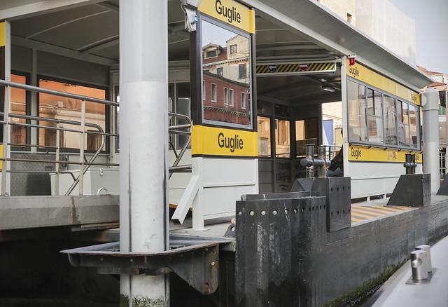 Water bus stop Guglie