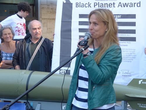 Kundgebung: Rheinmetall entrüsten!
