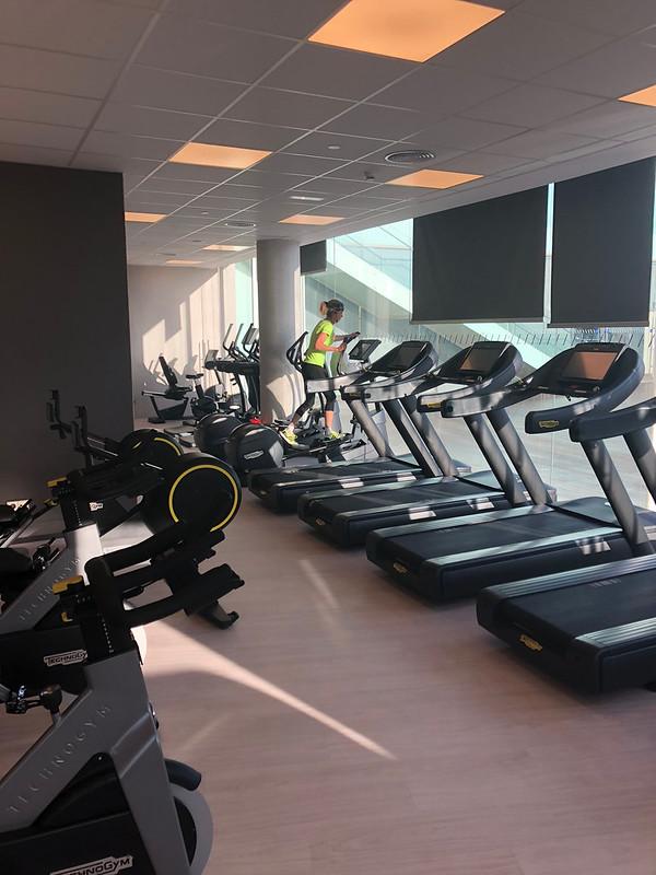 W Barcelone New Gym