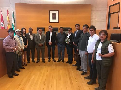Ayuntamiento foro de intercambio municipal con Ecuador sobre participación ciudadana