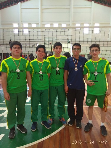 INTERCOLEGIAL VOLEIBOL 2018