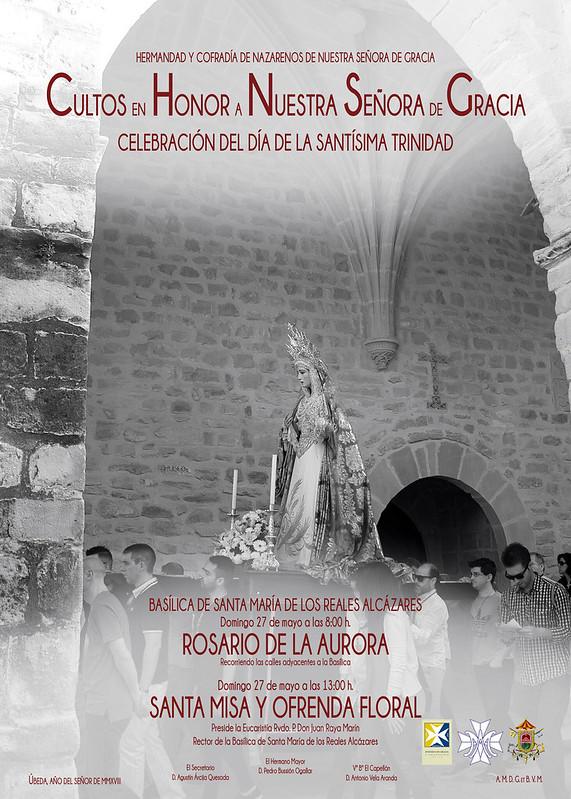 Cartel Rosario de la Aurora 2018