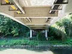 GLA450 Oberhauserstrasse Bridge over the Glatt River, Opfikon-Glattbrugg, Canton of Zurich, Switzerland