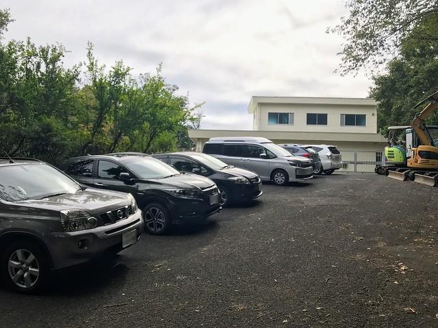 八木三山 八木山低区配水池 駐車場