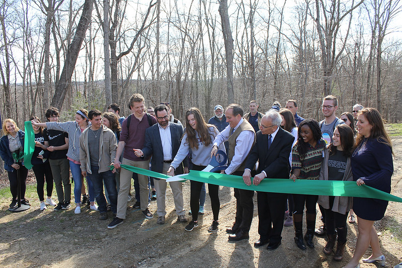 HEEP trailhead ribbon cutting