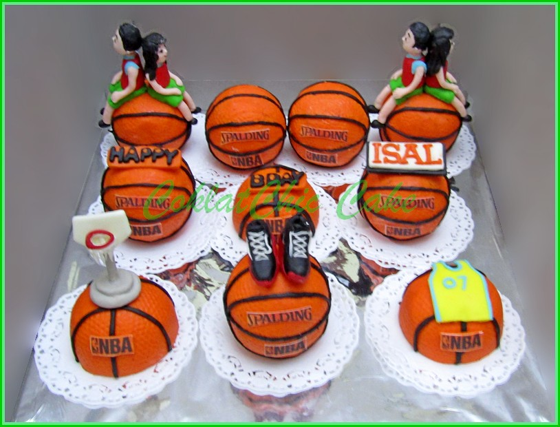 minicake set Basket Ball ISAL