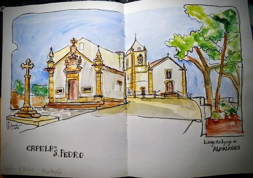 Largo da Igreja de Almalagês - Portugal
