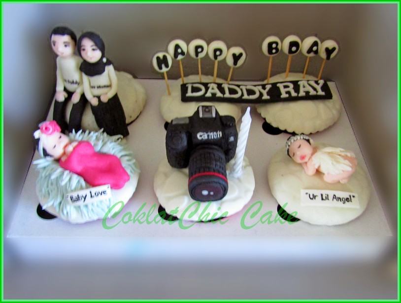 Cupcake Set Family DADDY RAY