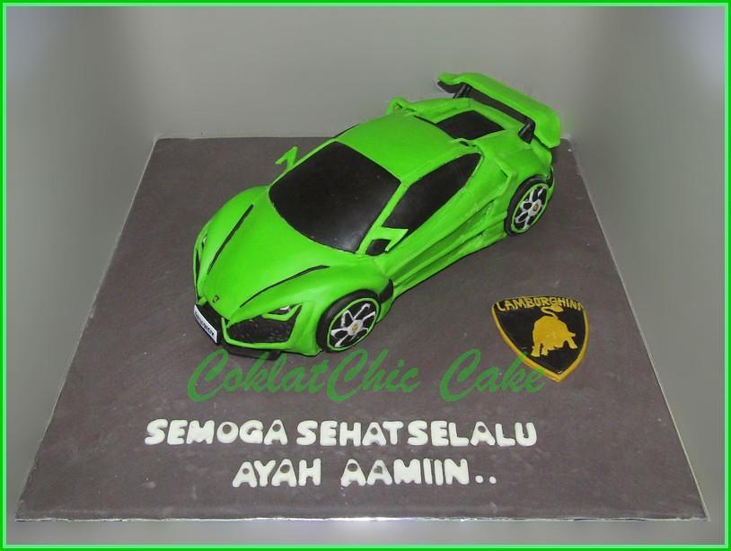 Cake Lamborghini - AYAH 18 cm