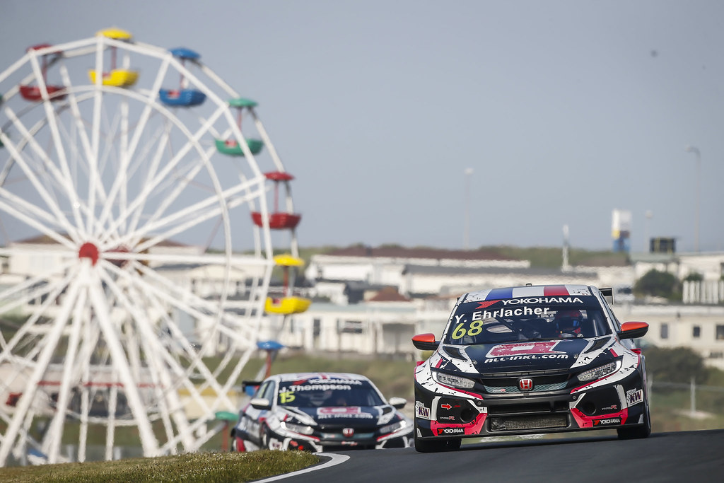 68 EHRLACHER Yann, (fra), Honda Civic TCR team ALL-INKL.COM Munnich Motorsport, action during the 2018 FIA WTCR World Touring Car cup of Zandvoort, Netherlands from May 19 to 21 - Photo Francois Flamand / DPPI