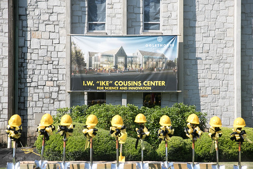Cousins Center Groundbreaking