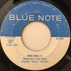 HANK MOBLEY:REACH OUT I'LL BE THERE(LABEL SIDE-A)