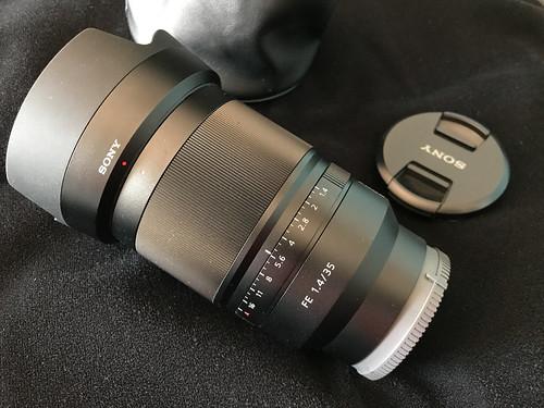 VENDIDO Objetivo Sony SEL35F14Z FE Distagon T* FE 35mm f/1.4 ZA en Camaras y Objetivos41479038852_854083968a