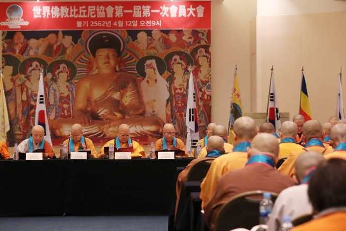 World Buddhism Bhikkuni Association mengadakan pertemuan di Seoul, Korea Selatan.