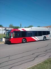 VIA Metropolitan Transit Novabus 658