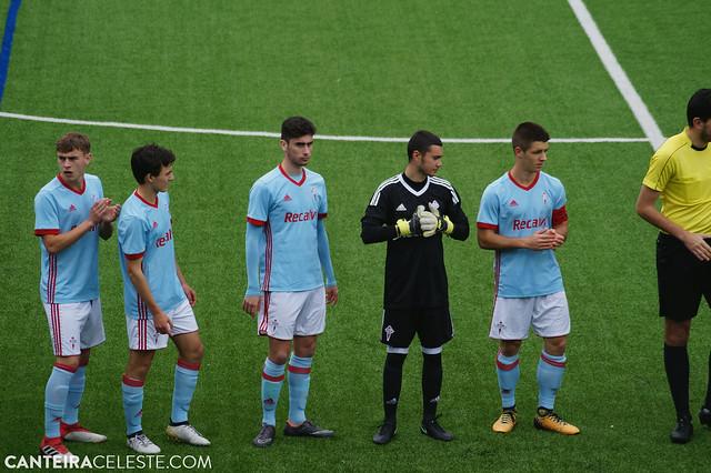 GALERÍA | Celta Juvenil B y Cadete A - Deportivo de la Coruña (28/04/2018)