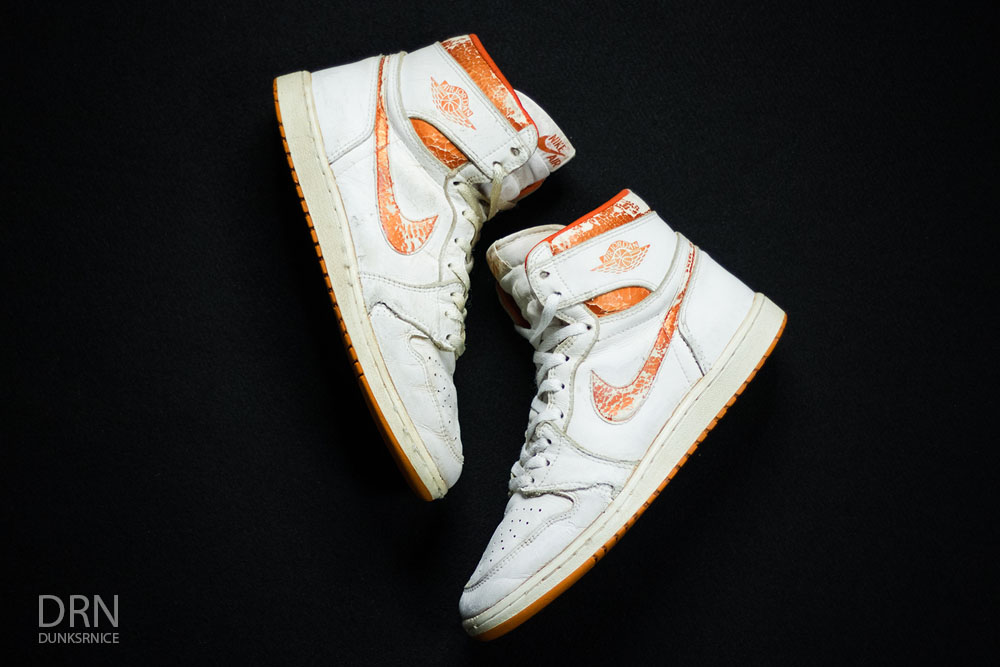 1985 Metallic Orange & White I's.