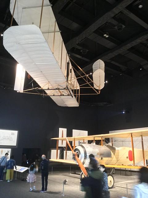 岐阜かかみがはら航空宇宙博物館 乙式一型偵察機サルムソンA2A と ライトフライヤー号 IMG_2413