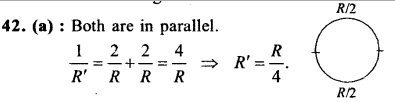 NEET AIPMT Physics Chapter Wise Solutions - Current Electricity explanation 42