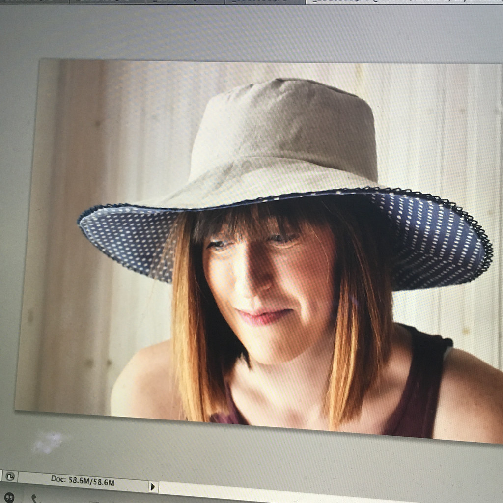 Making a Sun Hat: From Pattern to Posting