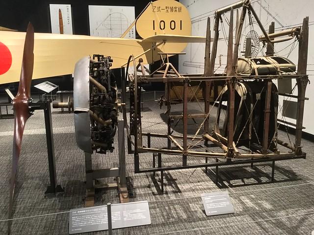 岐阜かかみがはら航空宇宙博物館 乙式一型偵察機サルムソンA2A エンジンと前部胴体 IMG_2414