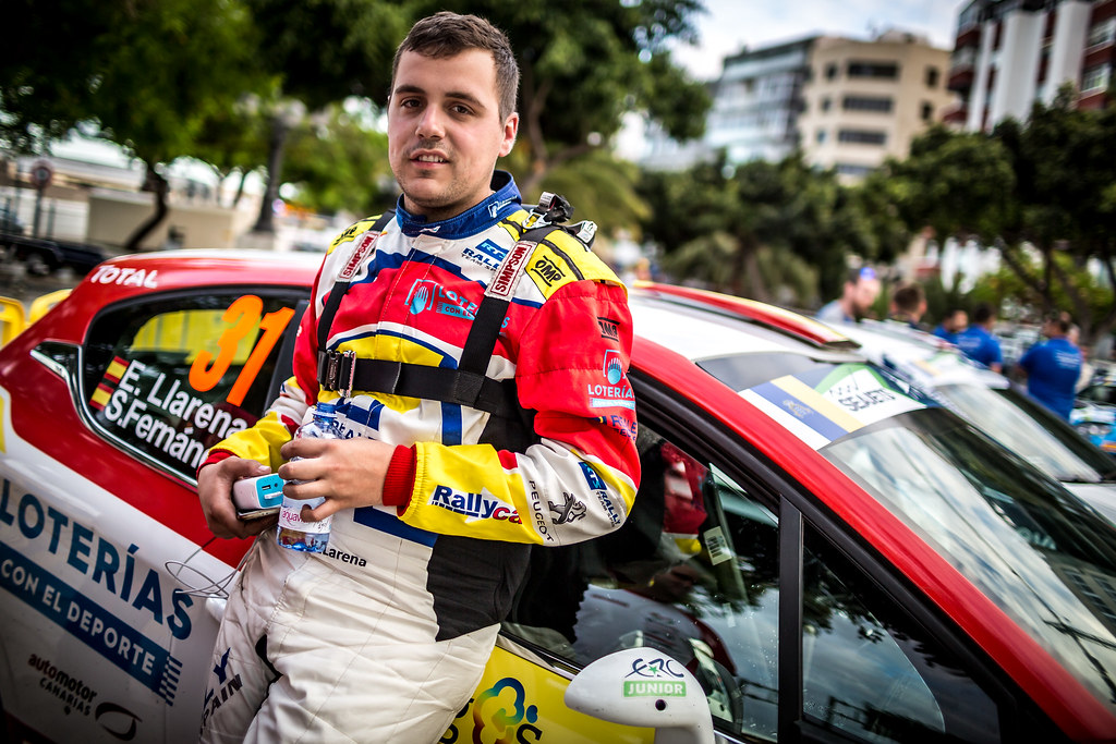 LLARENA Efren, Team rallye spain, Peugeot 208 R2, portrait during the 2018 European Rally Championship ERC Rally Islas Canarias, El Corte Inglés,  from May 3 to 5, at Las Palmas, Spain - Photo Thomas Fenetre / DPPI