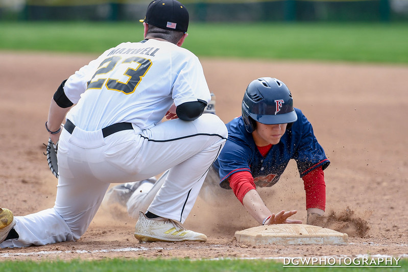 Foran High vs Jonathan Law - High School Baseball