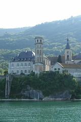 Abbaye d'Hautecombe @ Boat ride on Lac du Bourget