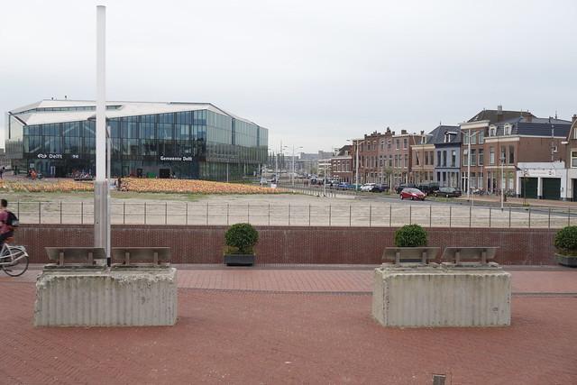Delft, Bolwerk + spoormonument  (20180427)