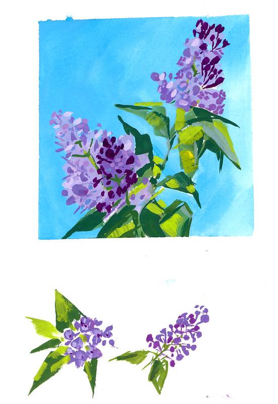 Sketchbook #113: Lilac