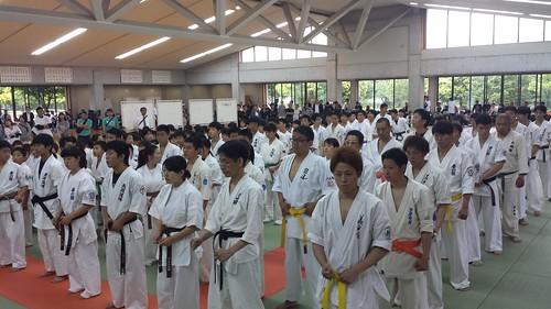 Yamaguchi Prefecture Karate Competition