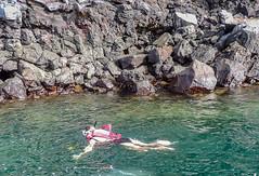 Snorkeling off Genovesa Island