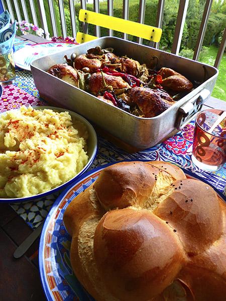 déjeuner oriental