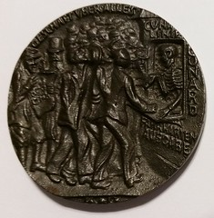 British Copy of Goetz Lusitania Medal reverse