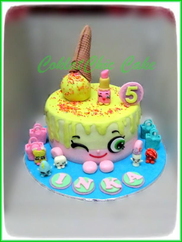 Cake Shopkins INKA 18 cm