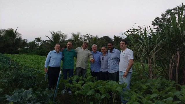 Projeto Fortalecimento da Horticultura em Tanque de Senzala/BA.
