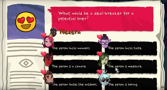 Monster Prom - Quiz Questions