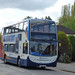 Warwick Road, Kenilworth - Stagecoach bus on the X17