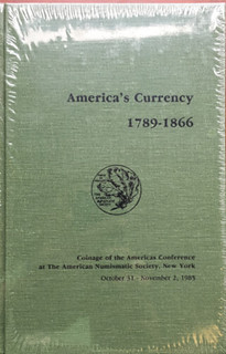 COAC America's currency 1789-1866 book cover