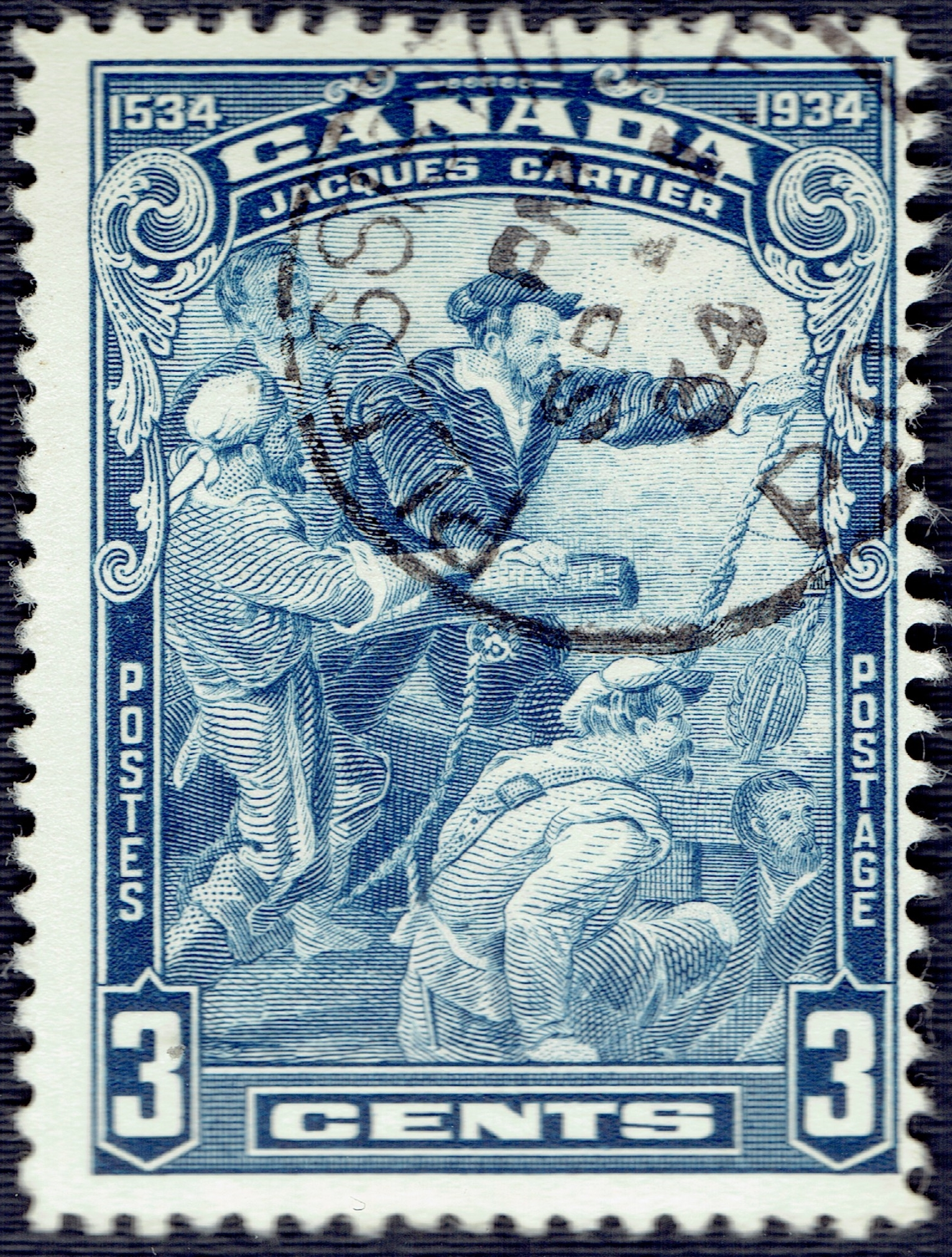 Canada - Scott #208 (1934)