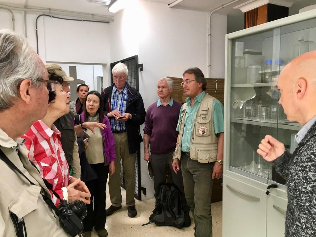 En el laboratorio de Biodiversidad Molecular