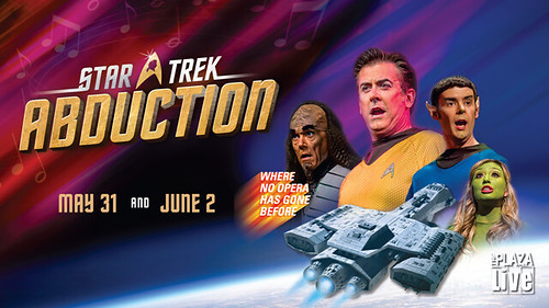 "Star Trek meets Mozart in ""The Abduction from the Seraglio"""