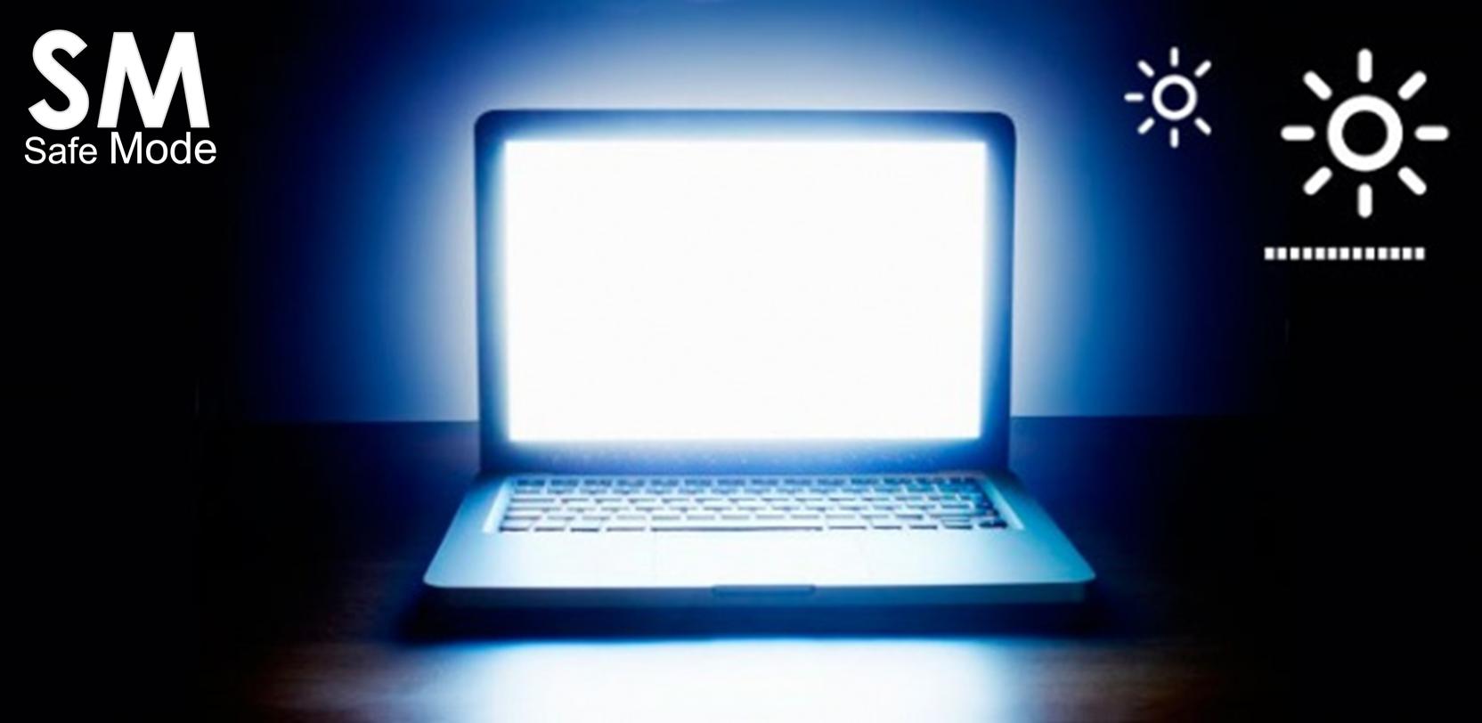 brillo de pantalla