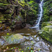 Tigers Clough Crooked Edge Waterfall, Rinvington, Lancashire, North West England