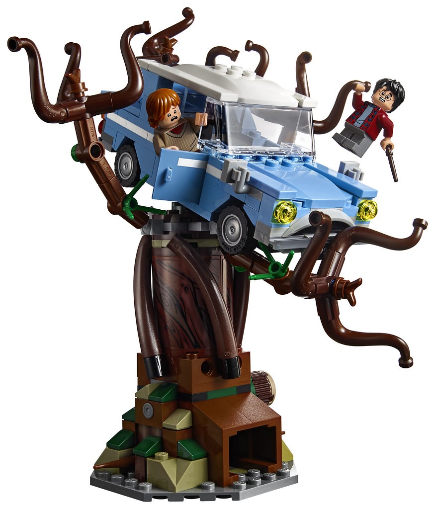 75953 Whomping Willow Ford Anglia Whomping Willow