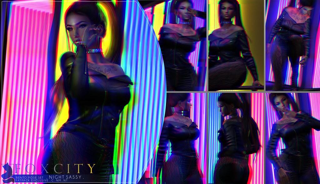 FOXCITY. Night Sassy @ N21 - TeleportHub.com Live!